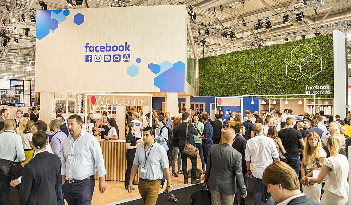 Stand: facebook, Halle 7 © picdrop.de / dmexco